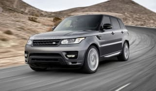 Range Rover Sport 2013 front tracking