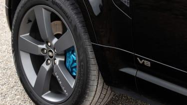 Land Rover Defender V8 SUV brakes