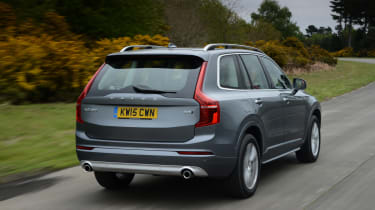 The XC90's main rivals include the BMW X5, Audi Q7, Land Rover Discovery and Mercedes GLE