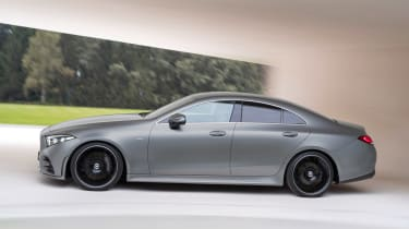The latest CLS seats five and rivals the Audi A7 Sportback and BMW 6 Series Gran Coupe
