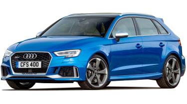 Audi RS3 cutout