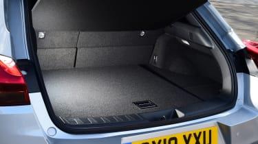 Lexus UX interior boot