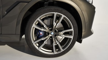 2019 BMW X6 - front wheel static close up shot