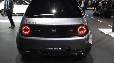 Honda e production version - rear view at Frankfurt
