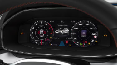 2020 SEAT Leon - digital dial cluster