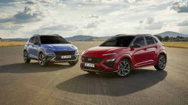 2020 Hyundai Kona and Kona N Line static