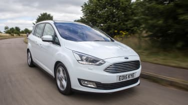 The Ford Grand C-MAX is a seven-seat MPV, which is more compact than the Ford Galaxy