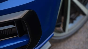 There's also a freshly designed lower front bumper to distinguish the R from GTI models