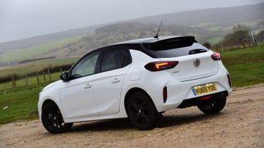 Vauxhall Corsa hatchback rear 3/4 static