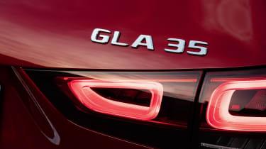 Mercedes-AMG GLA 35 badge