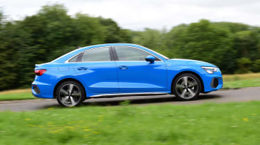 Audi A3 saloon side panning