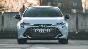 Toyota Corolla hatchback front