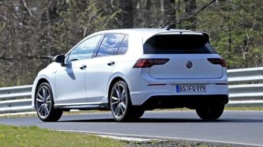 Volkswagen Golf R in development - rear view