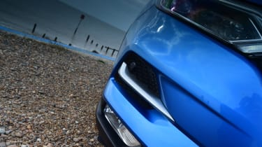 Nissan Qashqai - front bumper close