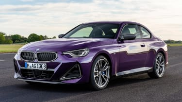 2021 BMW 2 Series Coupe - front 3/4 static