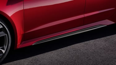 Audi RS7 side sill