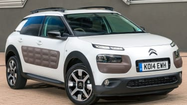 Our pick of the range is Feel, with air-conditioning, alloy wheels, Bluetooth and a seven-inch touchscreen