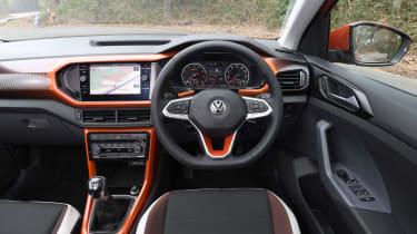Volkswagen T-Cross SUV interior