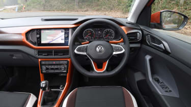 Volkswagen T-Cross SUV interior