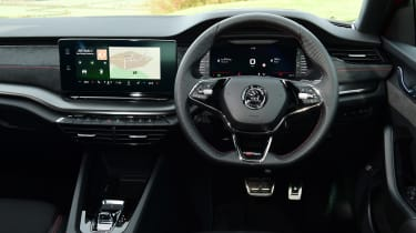 Skoda Octavia vRS Estate interior