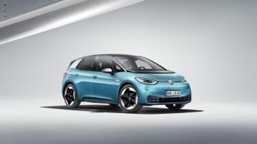 2019 Volkswagen ID.3 - front 3/4 static