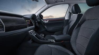 Skoda Kodiaq SE Drive interior