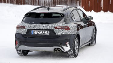 2021 Ford Focus prototype - rear