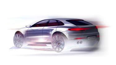 Porsche Macan SUV 2013 teaser 2
