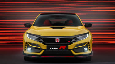 Honda Civic Type R Limited Edition front end