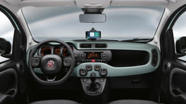 Fiat Panda mild hybrid interior