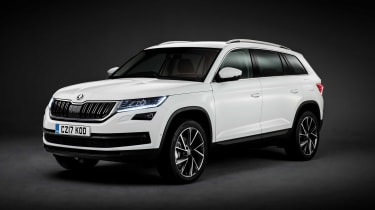 The new Skoda Kodiaq is the company's largest ever car & first seven-seater