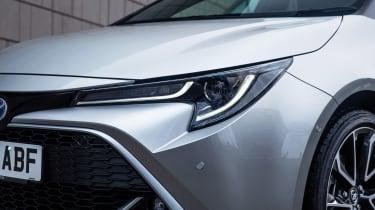 Toyota Corolla hatchback headlights