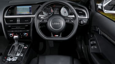 Audi S5 Coupe - interior