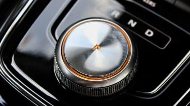 MG 5 EV long-range - interior detail