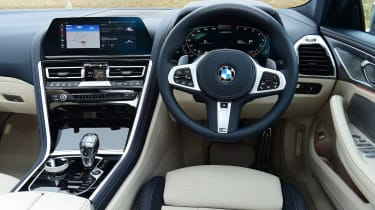 BMW 8 Series Gran Coupe saloon interior