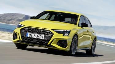 2020 Audi S3 Sportback driving
