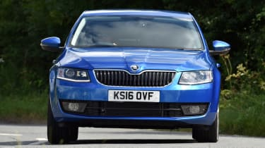 The Skoda Octavia makes a great family car thanks to its spacious interior and huge boot.