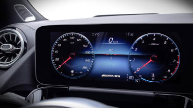 Mercedes-AMG GLA 35 dials