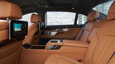 BMW 7 Series saloon rear seats