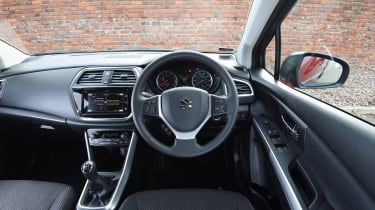 The driving position is good while the dashboard is smart and well laid-out