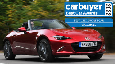 Best Used Sports Car: Mazda MX-5