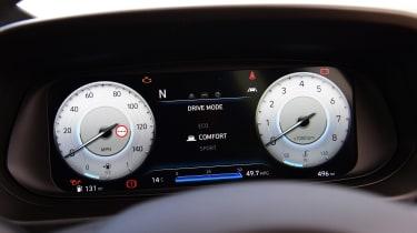 Hyundai i10 hatchback digital dials