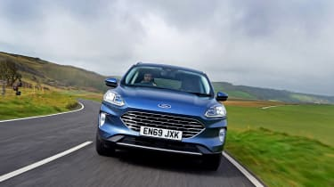 Ford Kuga driving - front view