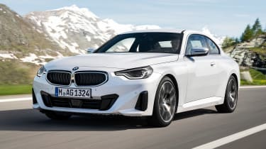 2021 BMW 2 Series Coupe M Sport - front 3/4