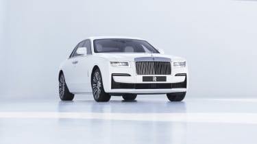 2020 Rolls-Royce Ghost - front 3/4 low static