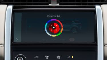 2020 Land Rover Discovery Sport screen - ambient lighting