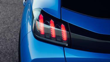 Peugeot e-208 rear light