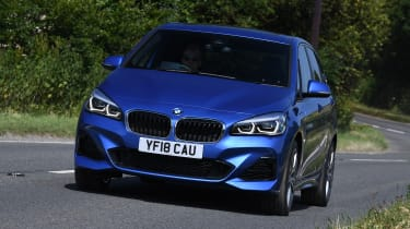 BMW 2 Series Active Tourer MPV front 3/4 cornering
