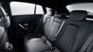 2019 Mercedes CLA Shooting Brake - rear seat
