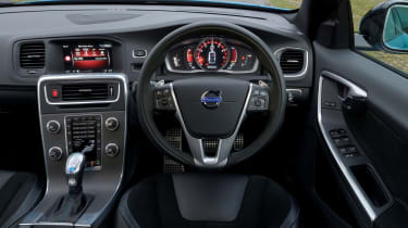 The dashboard is smart and well-equipped with automatic versions have steering wheel-mounted gearchange paddles
